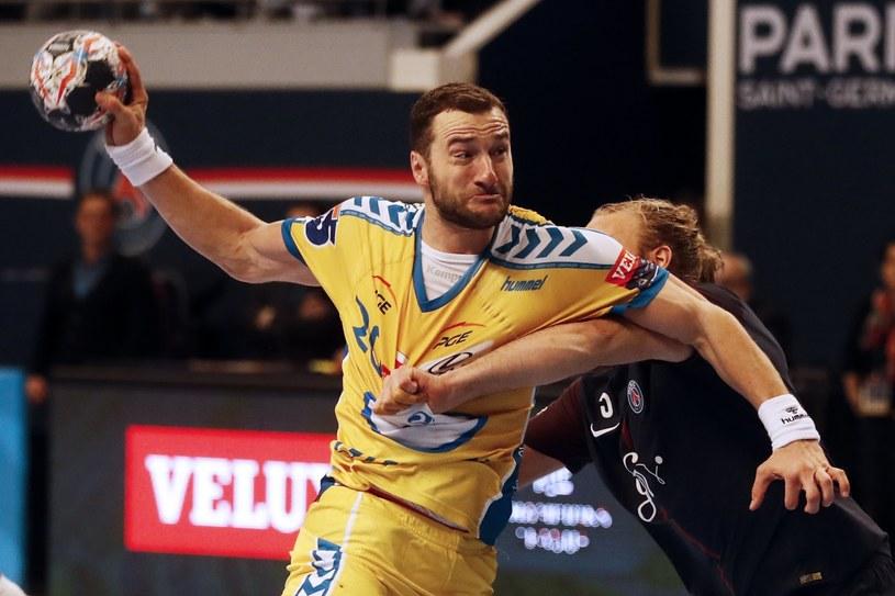 Mariusz Jurkiewicz w meczu z PSG /PAP/EPA