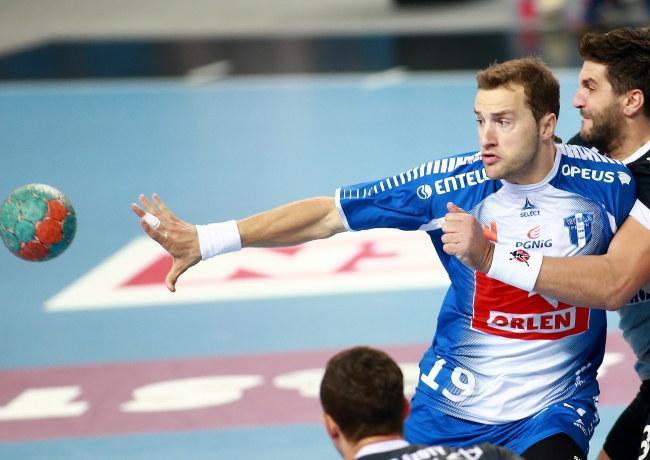 Mariusz Jurkiewicz, zawodnik Orlenu Wisły Płock /Marcin Bednarski /PAP