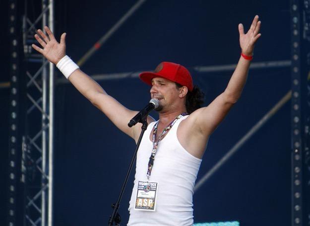 Mariusz Kałamaga na Dużej Scenie Przystanku Woodstock 2013 - fot. Krystian Dobuszyński /Reporter