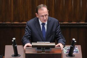 Mariusz Kamiński w Sejmie: Dyktator z Mińska chce wziąć odwet