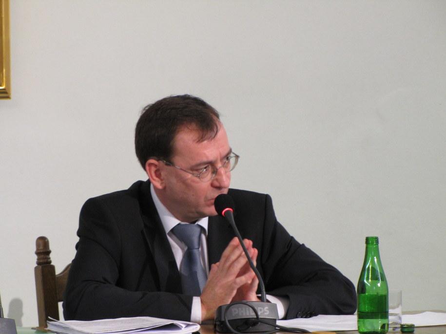 Mariusz Kamiśńki pzred komisja śledczą  /Fot. Krzysztof Zasada /RMF FM
