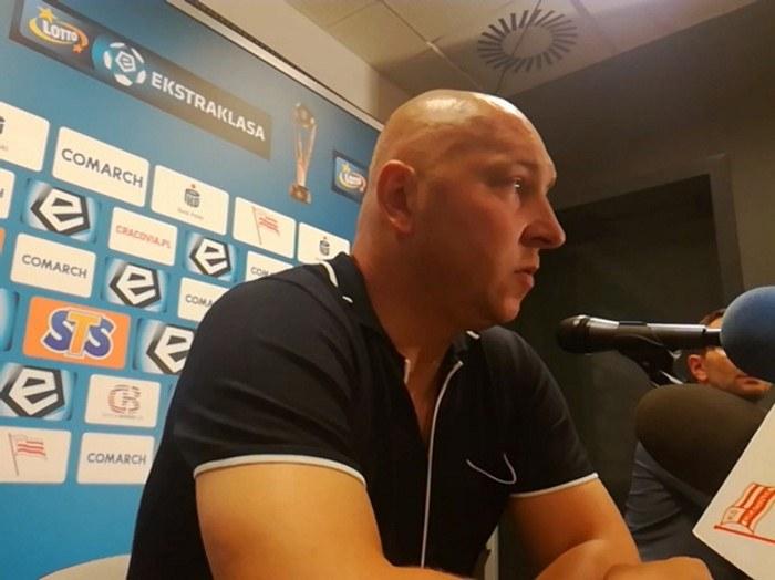Mariusz Lewandowski, trener Bruk-Betu Termaliki Nieciecza /INTERIA.PL