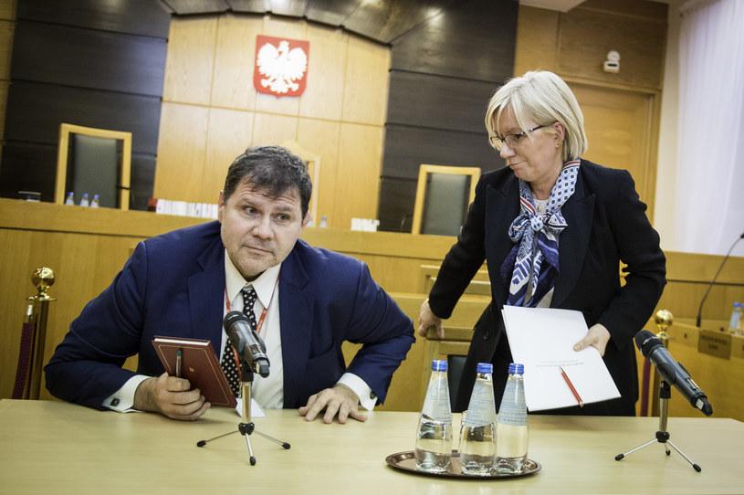 Mariusz Muszyński i prezes TK Julia Przyłębska /Jacek Domiński /Reporter
