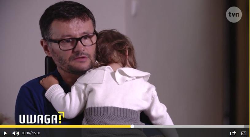 Mariusz P. z córką Nelą /AGENCJA GAZETA