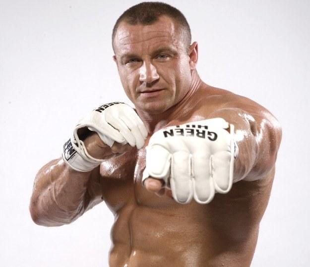 Mariusz Pudzianowski jest faworytem walki z Yusuke Kawaguchim /Informacja prasowa