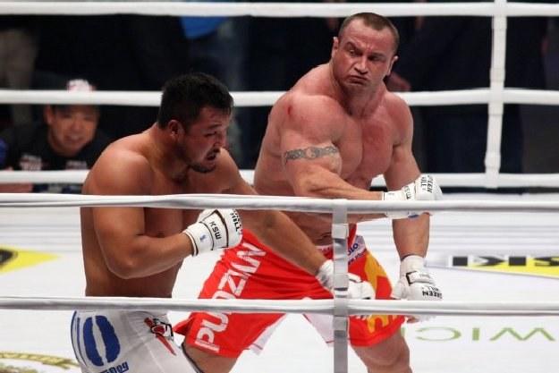 Mariusz Pudzianowski kontra Yusuke Kawaguchi, Fot konfrontacja.com /Informacja prasowa