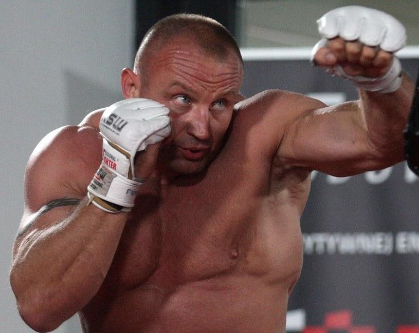 Mariusz Pudzianowski /Marcin Szymczyk /Newspix