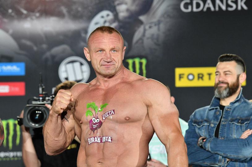 Mariusz Pudzianowski /Wojciech Strozyk/REPORTER /East News