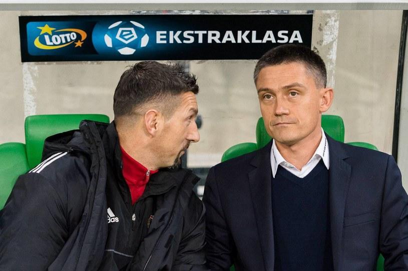 Mariusz Rumak (z prawej) i Dariusz Dudek /Sebastian Borowski /Newspix