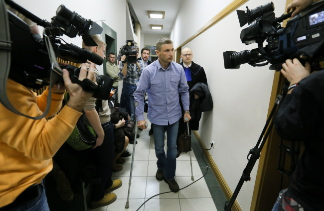 Mariusz Saczek spędził w szpitalach dwa lata /Paweł Supernak /PAP