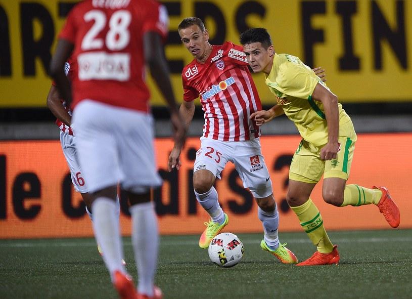 Mariusz Stępiński zaliczył swoje debiutanckie trafienie w Ligue 1 /AFP