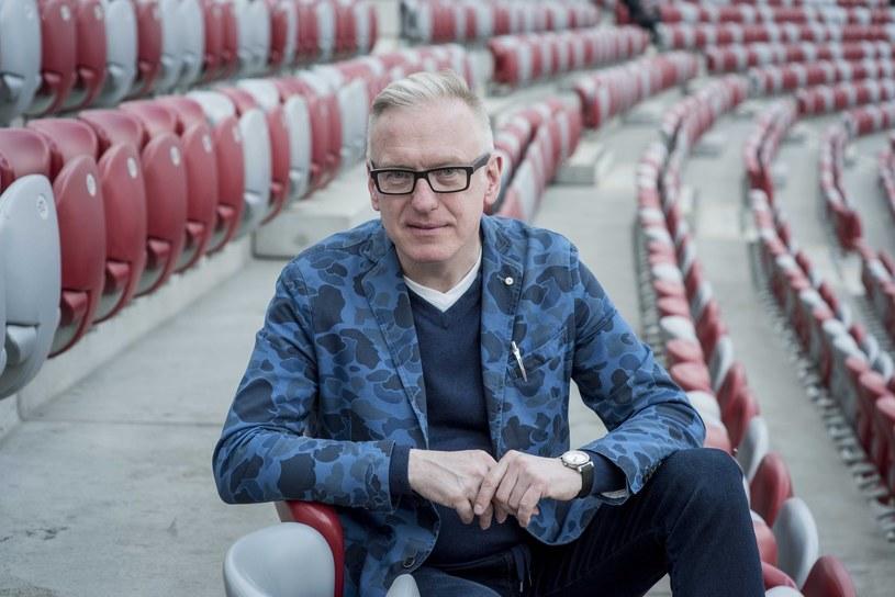"""Mariusz Szczygieł, autor książki """"Projekt prawda"""" /Jacek Dominski/REPORTER /East News"""
