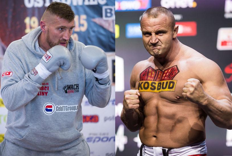 Mariusz Wach i Mariusz Pudzianowski /fot. Łukasz Dziekan/Szymon Starnawski /East News