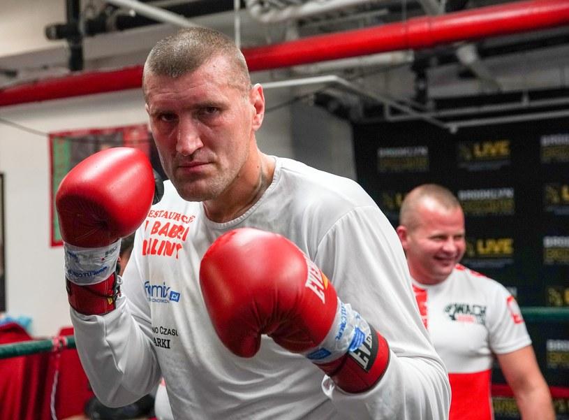 Mariusz Wach w gotowości /fot. Wojciech Kubik /East News