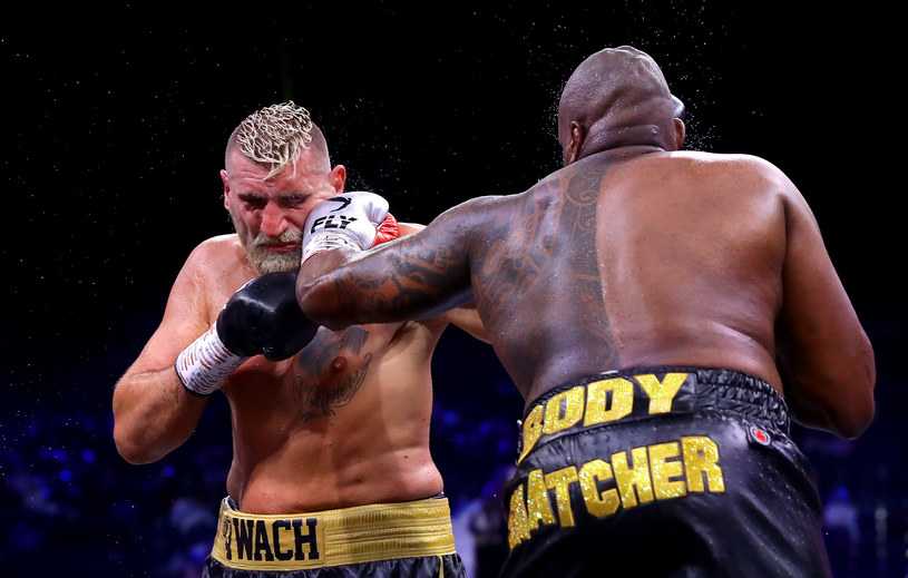 Mariusz Wach w walce z Dillianem Whyte'em /Richard Heathcote /Getty Images