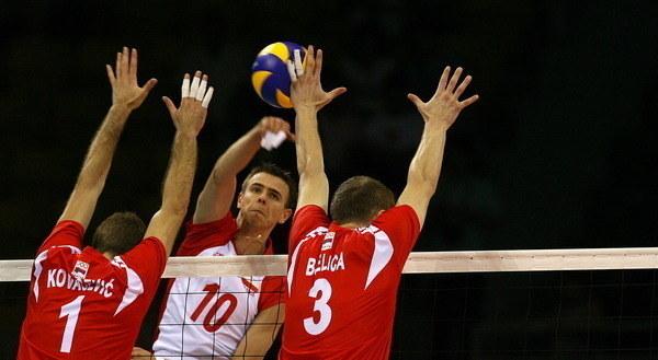 Mariusz Wlazły w ataku /AFP