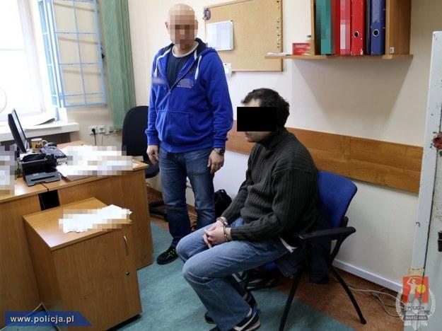 Mariuszowi G. grozi do 8 lat więzienia /materiały prasowe /RMF/Policja