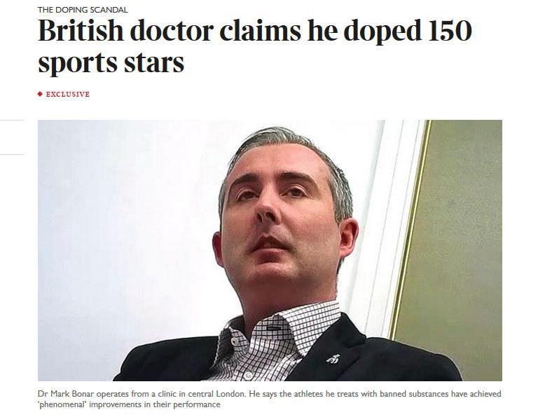 Mark Bonar / http://www.thetimes.co.uk /