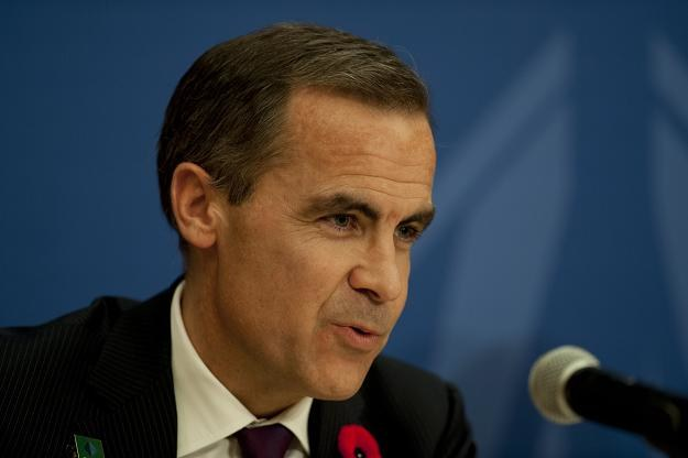 Mark Carney, teraz jeszcze prezes Banku Kanady /AFP