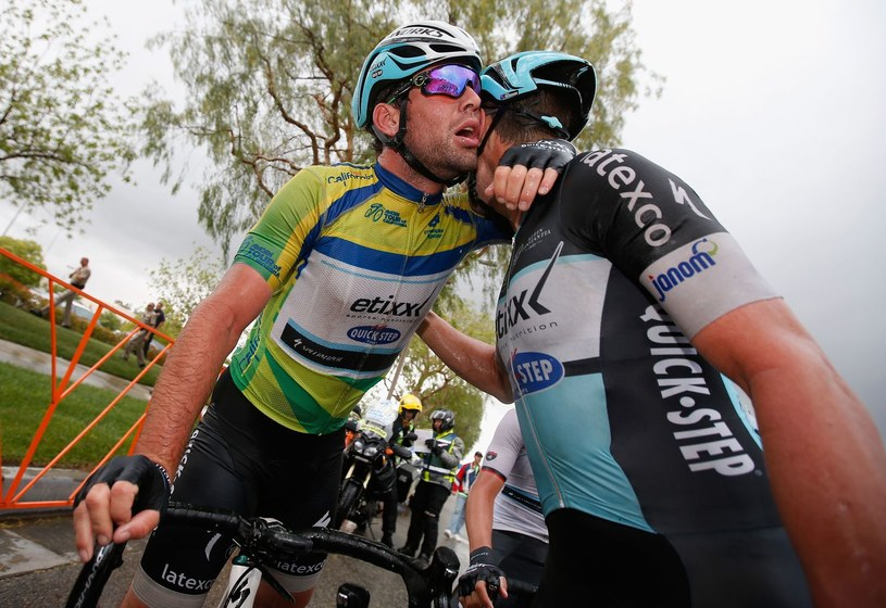 Mark Cavendish i Mark Renshaw /AFP