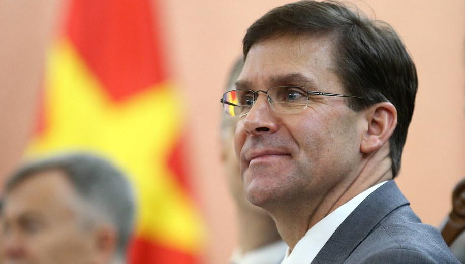 Mark Esper /POOL LUONG THAI LINH /PAP/EPA