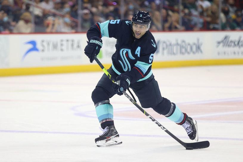 Mark Giordano z Seattle Kraken - nowego 32. klubu NHL /Abbie Parr /Getty Images