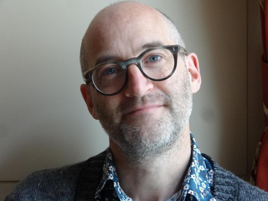 Mark Miodownik z University College London /Grzegorz Jasiński /RMF FM