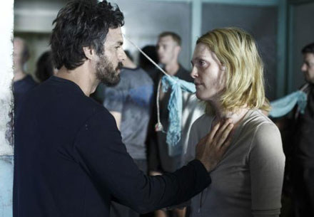 "Mark Ruffalo i Julianne Moore w filmie ""Blindness"" /"