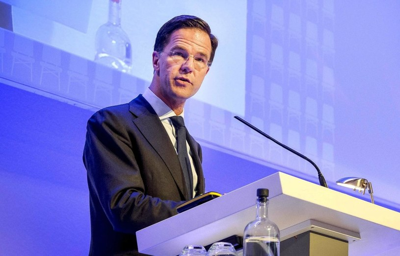 Mark Rutte /EPA/LEX VAN LIESHOUT  /PAP/EPA