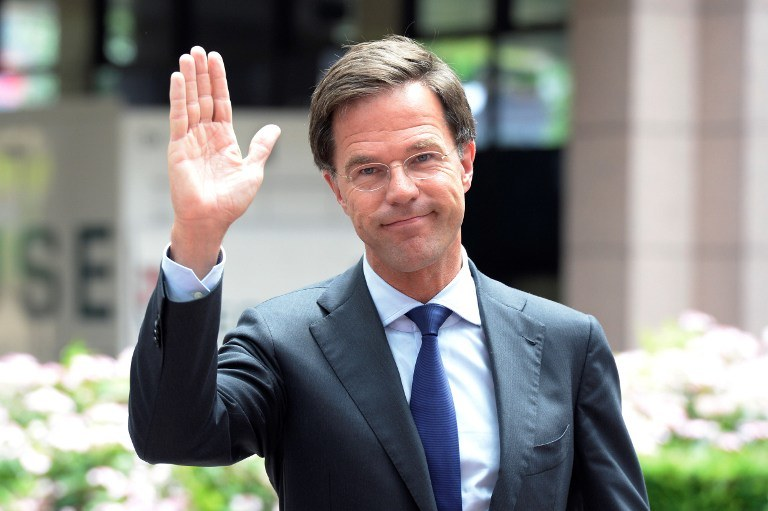 Mark Rutte /AFP