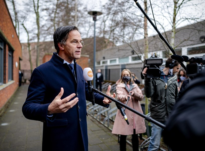 Mark Rutte /BART MAAT / ANP / AFP /AFP