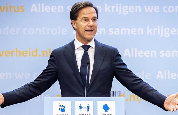 Mark Rutte / REMKO DE WAAL    /PAP/EPA
