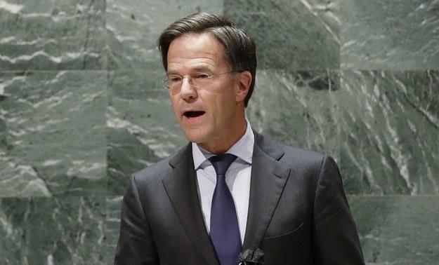 Mark Rutte /JOHN ANGELILLO / POOL /PAP/EPA