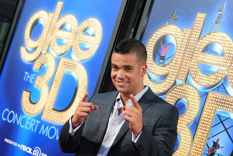 "Mark Salling na światowej premierze ""Glee The 3D Concert Movie"" w Los Angeles (2011) /AFP"