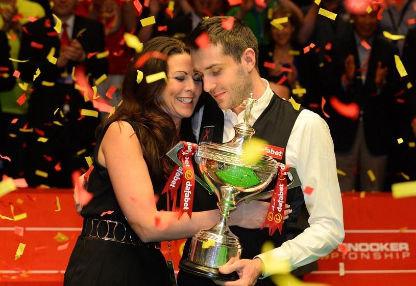 Mark Selby i jego żona Vikki /AFP