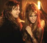 """Mark Wahlberg i Jennifer Aniston w filmie """"Rock Star"""" /"""