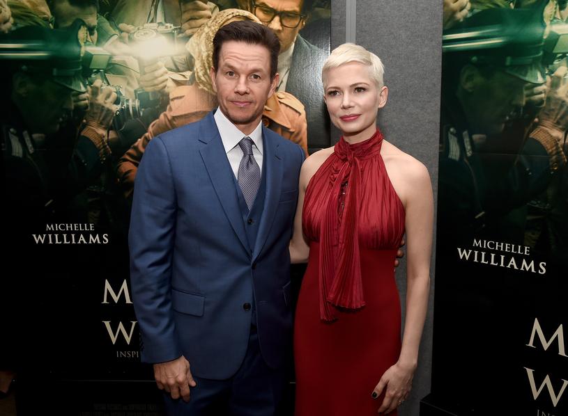 """Mark Wahlberg i Michelle Williams na premierze filmu """"Wszystkie pieniądze świata"""" /Getty Images"""