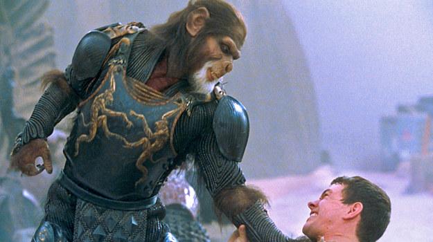 """Mark Wahlberg i Tim Roth w """"Planecie małp"""" /fot  /AKPA"""