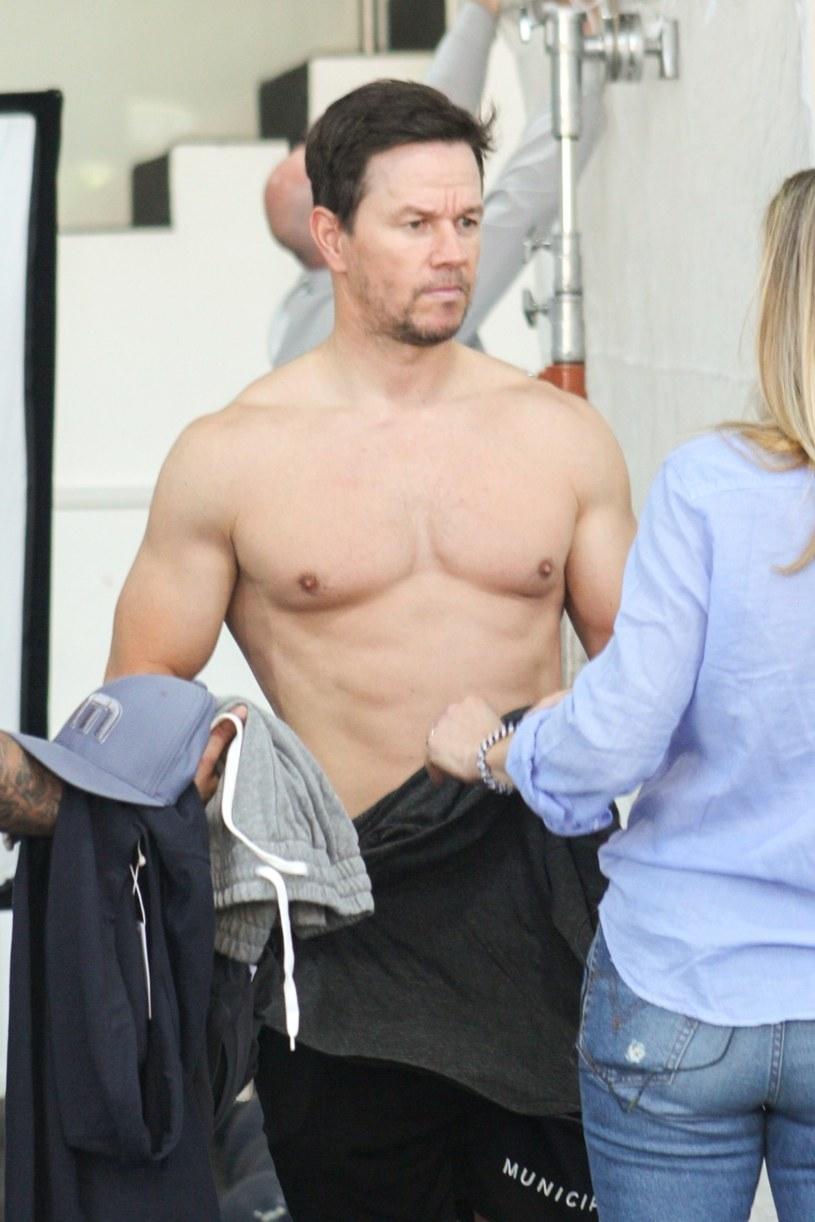 Mark Wahlberg obecnie podczas sesji treningowej /Agencja FORUM