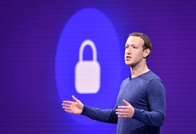 Mark Zuckerberg, prezes Facebooka /AFP