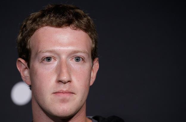 Mark Zuckerberg, twórca Facebooka /AFP
