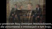 Mark Zuckerberg u Dmitrija Miedwiediewa