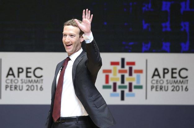 Mark Zuckerberg /ERNESTO ARIAS/EFE /PAP/EPA