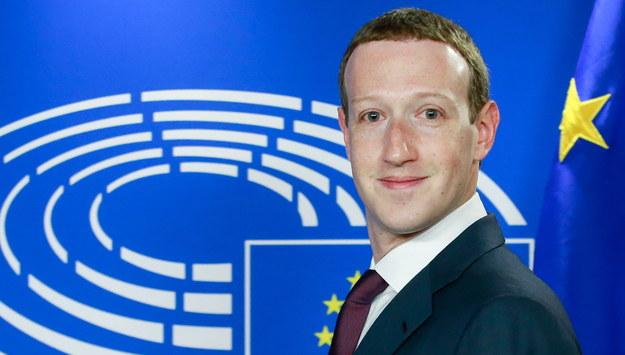 Mark Zuckerberg /STEPHANIE LECOCQ  /PAP/EPA
