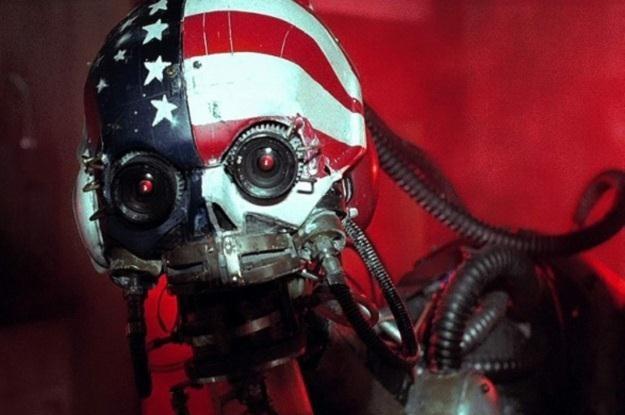 """Mark13 to robot-zabójca z kultowego już filmu """"Hardware"""" /materiały prasowe"""