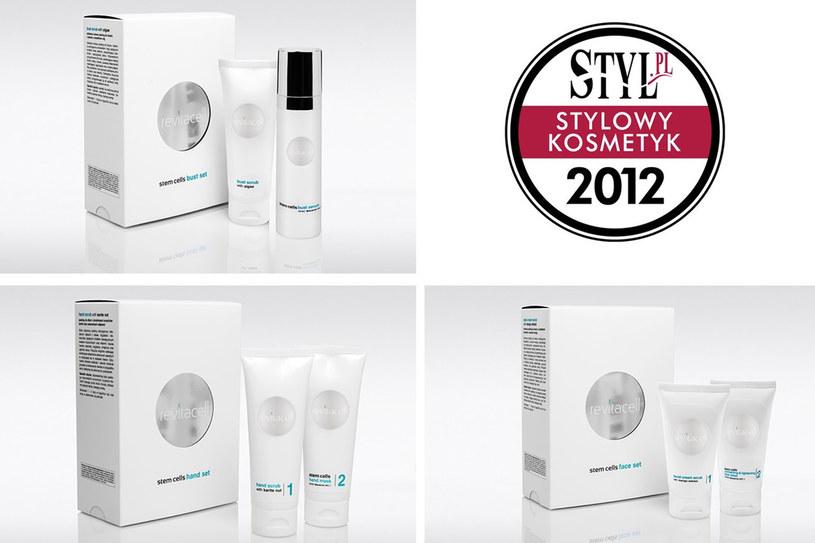 Marka Revitacell została nagrodzona tytułem Stylowy Kosmetyk 2012 /materiały promocyjne