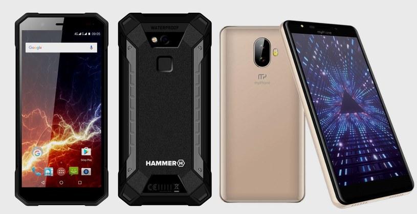 Marki myPhone i HAMMER  na MWC 2018. Wśród premier: smartfony 18:9 /materiały prasowe