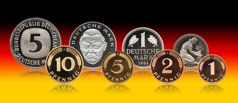 Marki niemieckie - waluta Niemiec przed wprowadzeniem euro /123RF/PICSEL
