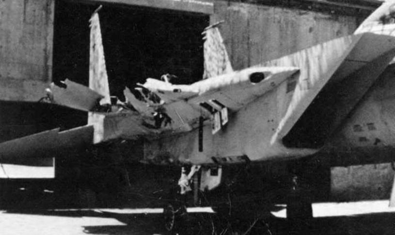 """""""Markia Shchakim"""" trafił na dwa miesiące do remontu. Później wrócił do służby i lata bojowo do dziś /IAF /INTERIA.PL/materiały prasowe"""