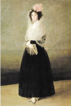 Markiza de la Santana, Francisco Goya /